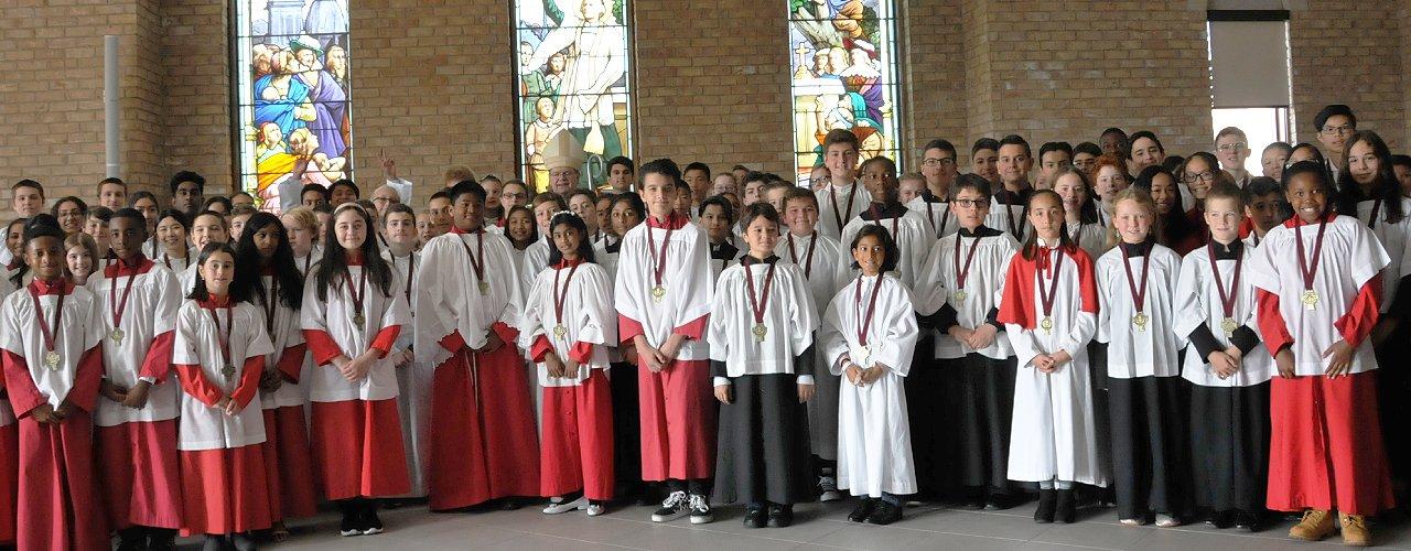 Bishop's Altar Server Awards